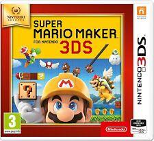 Super Mario Maker Selects Range (3DS) New & Sealed UK PAL Free UK Postage