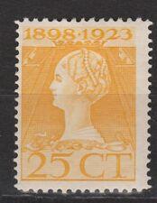 NVPH Netherlands Nederland nr. 126 MLH ong 1923 Wilhelmina Pays Bas