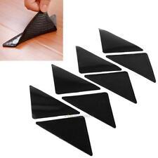 8Pcs Rug Carpet Mat Grippers Non Slip Skid Corners Pad For Bathroom Kitchen Car