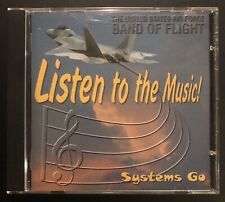 United States Air Force Band of Flight Systems Go CD Rare 1990s USAF Music Demo