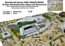Neu für Diorama Nr.1249A Atlantikwall-Bunker WKII OMAHA BEACH 1:72