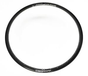 "WTB Scraper i40 Tubeless Ready TLR 27.5""+ 32 Hole Plus Size MTB Rims Black New"