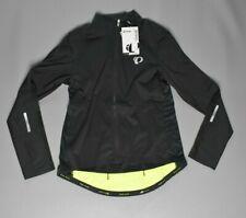 Pearl Izumi Men's Pro Pursuit LS Wind Jersey Black/Yellow Form Fit Size XL $140