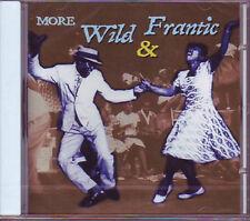 V.A. - MORE WILD & FRANTIC - 26 R&B / Rock Hits CD