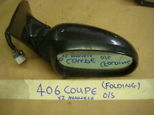 PEUGEOT 406 COUPE WING MIRROR (ELECTRIC & POWER FOLDING) O/S