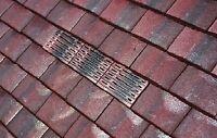 Plain Tile Vent | Roof Ventilation For Concrete / Clay Tiles  | Sanded Finish