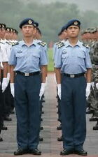 Obsolete 07's China PLA Air Force Officer Summer Short-sleeved Uniform,Set