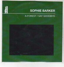 (DQ764) A Forest / Say Goodbye, Sophie Barker - 2011 DJ CD
