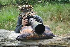 Gran Cervical Cámara alcance resto fotografía birdwatching Impermeable Roble Bean Bag