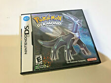 Pokemon Diamond Version Empty Case And Manual ONLY Nintendo DS NO GAME Genuine