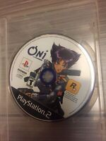 Oni (Sony PlayStation 2, 2001) Disc Only Tested
