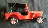 Solido Red Willys Jeep 1/45 Scale