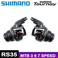 SHIMANO TOURNEY SL RS35 Shift Lever 3x6 3x7 Speed Twist Shifter MTB Bicycle Bike
