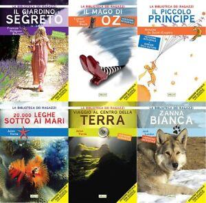 Lotto 6 libri NUOVI - Pacchetto Alta Leggibilità / DSA - raccolta stock libri
