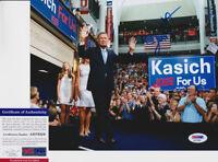 John Kasich Governor Ohio President Signed Autograph 8x10 Photo PSA/DNA COA #5