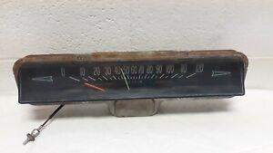 1963 Pontiac Bonn/Cat/GP RARE Speed Warning Speedometer OEM