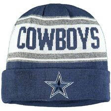 DALLAS COWBOYS NFL NEW ERA STATED NAVY TEAM SPORTS KNIT BEANIE OSFA $25.99