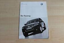 76753) VW Touareg - Preise & Extras - Prospekt 09/2002