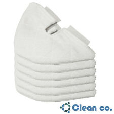 Clean Co. Triangle Replacement Pads for Shark Steam Pocket Mop Microfiber Pad 6