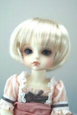 Monique BUBBLES Wig Honey Blonde color Size 6-7 YoSd BJD shown on Alice by Volks