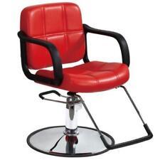 Haircut Hydraulic Barber Chair Styling Salon Beauty Equipment SPA Hair Cut RED +