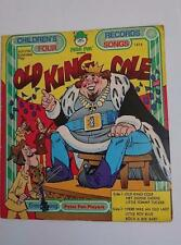 Peter Pan Records - Old King Cole  #1414 - Peter Pan Players - 45rpm
