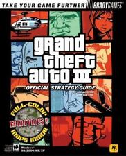 Grand Theft Auto 3 Official Strategy Guide for PC Bradygames Take Your Games Fu