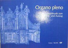 Kirchenorgel Orgel Noten : ORGANO PLENO Orgelmusik zum Ein- und Auszug mittel