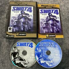 SWAT 4 Special Weapons And Tactics PC Game Complete CD-Rom Sierra Best Seller
