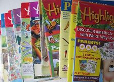 Lot of 23 Highlights Fun with a Purpose Magazines 1998-2015