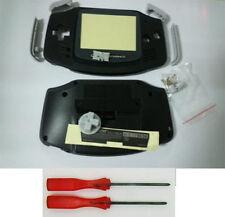New Black Full Housing Shell Pack for Nintendo Gameboy Advance GBA Repair OEM