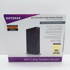NETGEAR C6300 DOCSIS 3.0 DUAL BAND WIRELESS AC1750 WI-FI CABLE MODEM ROUTER (T50