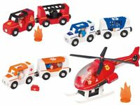 Toy Vehicles Light Sound Fire Engine Police Car Ambulance Fire Stat Helicopter