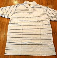 mens authentic Burberry, London classic golf polo shirt, made in Italy size: M