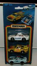 Matchbox Superfast Ltd MP-106 Porsche Set A - Racing Porsche, Porsche Turbo, 959