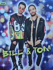 BILL & TOM KAULITZ - A4 Poster (21 x 28 cm) - Tokio Hotel Clippings Fan Sammlung