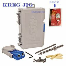 KREG TOOL R3 Jig Jr. Pocket Hole  System FREE KEY CHAIN LED LIGHT & SHIPPING