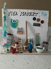 Miniature dollhouse Furniture And Accessories Lot/Diorama/shadow box