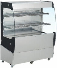 "OMCAN RS-CN-0200 40"" Open Air Grab and Go Refrigerated Display Case Cooler NEW!"