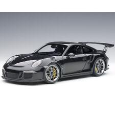 Autoart Porsche 911 991 GT3 RS 1:18 Model Gloss Black / Silver Wheels 78164