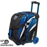 KR Strikeforce Cruiser Smooth Blue/White/Black 2 Ball Roller Bowling Bag