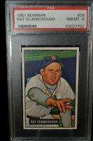 1951 Bowman - Ray Scarborough - #39 - PSA 8 - NM-MT