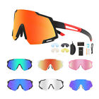 Polarized Cycling Sunglasses Eyewear Bike Riding Goggles Sports Glasses 5 Lenses