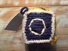 Coton Organique Squeeze Bloc Hochet Bébé Jouet