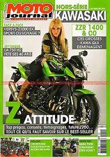 MOTO JOURNAL HS Spécial KAWASAKI Z1000 SX Versys 1000 650 ER-6 N F W800 VN 1700