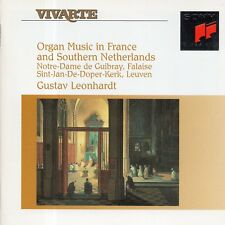 Organ Music in France and Southern Netherlands / Gustav Leonhardt