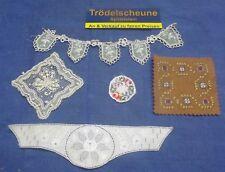 Convolute 5/Antique Textiles for The Doll's House Handmade Um 1900