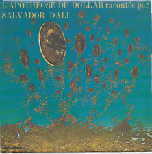 "SALVADOR DALI - L'Apothéose du Dollar - 7"" Single - Flexi-Disc - 1971 - France"
