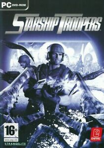 Starship Troopers - PC 1st Person Shooter CD-ROM Game NEW - (French Covers)