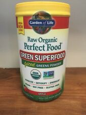 Garden of Life Perfect Food RAW APPLE Organic Green Super Food 8.2oz(234g)